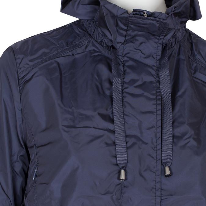 Dámská bunda s volánky bata, modrá, 979-9107 - 16