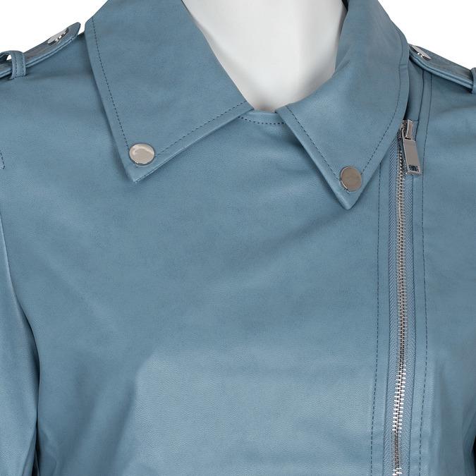 Modrý dámský křivák se zipy bata, modrá, 971-9198 - 16