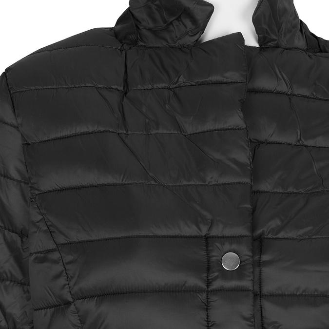 Černá dámská bunda s límečkem bata, černá, 979-6182 - 16