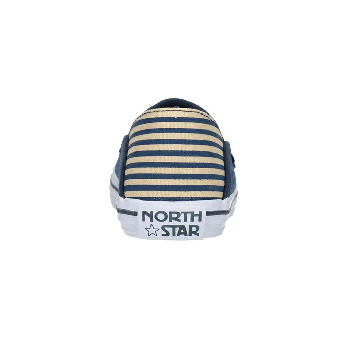 Dětské Slip-on v denimovém stylu north-star, modrá, 419-9615 - 15