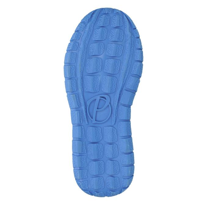 Modré kožené tenisky dětské mini-b, modrá, 213-9604 - 17