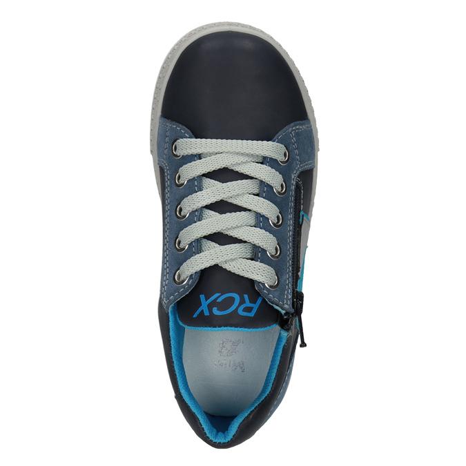 Chlapecké kožené tenisky modré mini-b, modrá, 416-9603 - 15