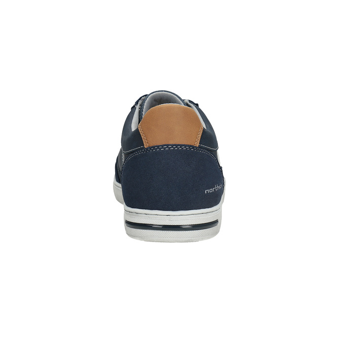 Ležérní pánské tenisky north-star, modrá, 841-9614 - 15