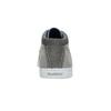 Ležérní šedé tenisky ke kotníkům north-star, šedá, 841-2613 - 15