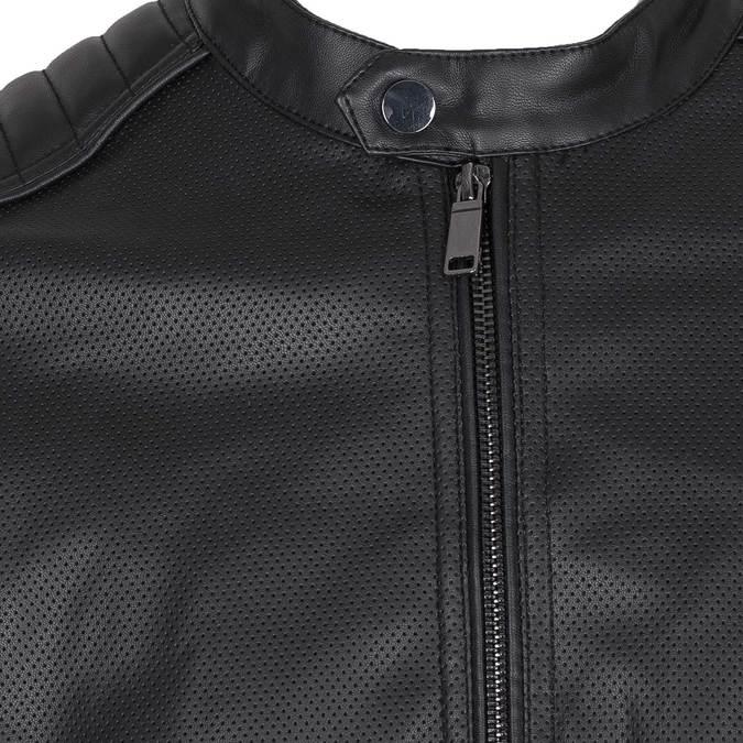 Pánská bunda s prošitím na ramenou bata, černá, 971-6118 - 16
