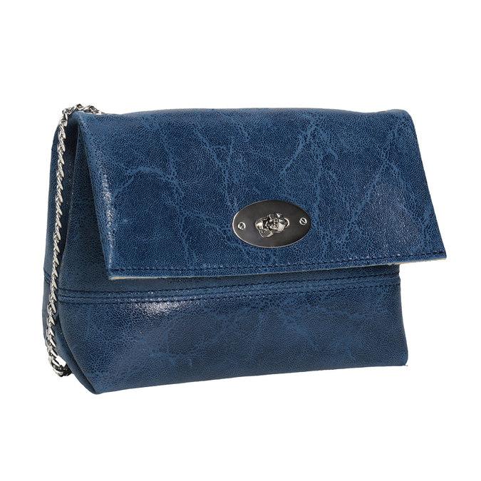 Kožená Crossbody kabelka s řetízkem bata, 964-9239 - 13