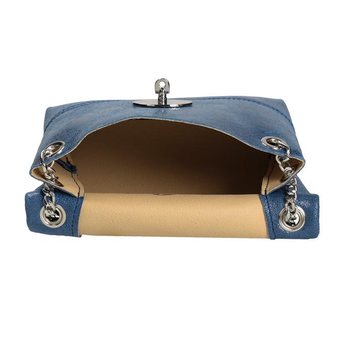 Kožená Crossbody kabelka s řetízkem bata, 964-9239 - 15