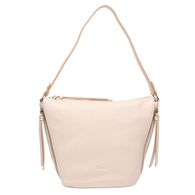 Růžová kabelka se zipy gabor-bags, růžová, 961-5003 - 26