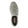 Slip-on z broušené kůže weinbrenner, šedá, 833-8603 - 17