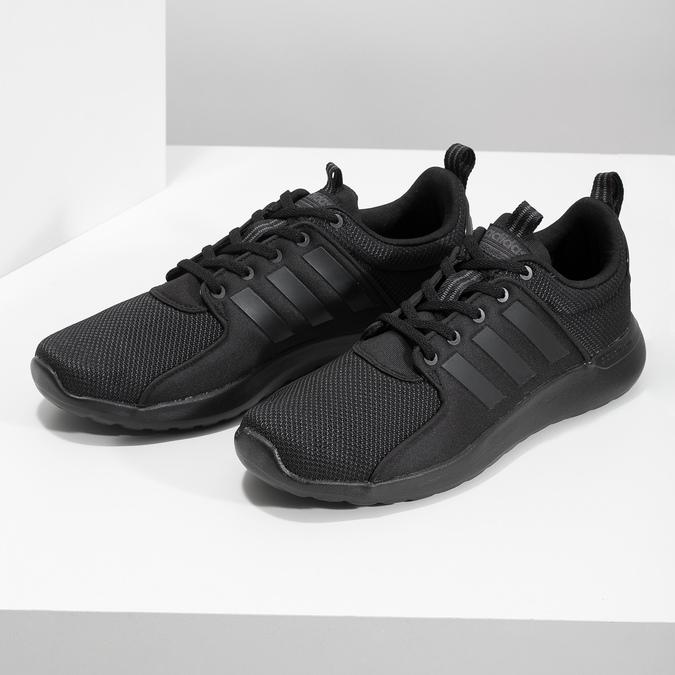 Pánské černé tenisky sportovního stylu adidas, černá, 809-6268 - 16