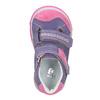 Dětské kožené boty na suché zipy bubblegummers, fialová, 126-9601 - 15