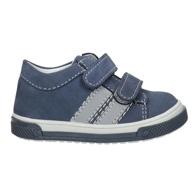 Kožená dětská obuv na suché zipy bubblegummers, 116-9607 - 26