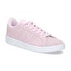 Růžové kožené tenisky dámské adidas, růžová, 503-5478 - 13