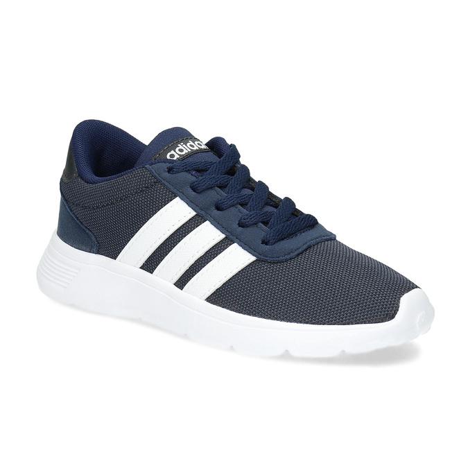 Modré chlapecké tenisky sportovního střihu adidas, modrá, 309-9388 - 13