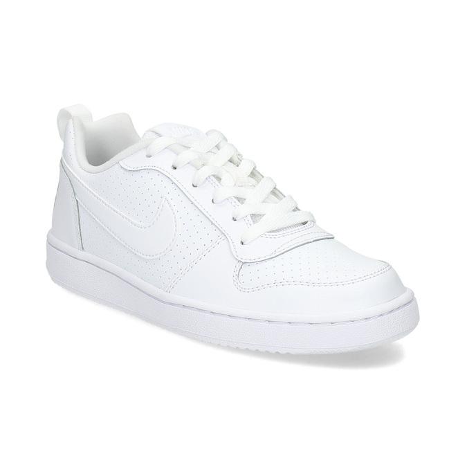 Bílé dětské tenisky nike, bílá, 401-1203 - 13