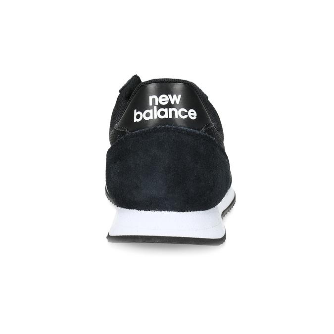 Černé dámské tenisky sportovního střihu new-balance, černá, 509-6871 - 15