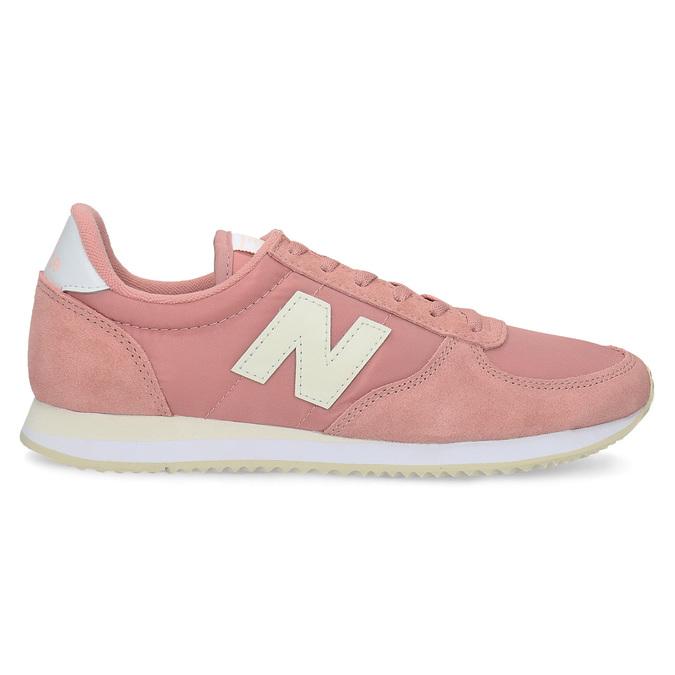 Růžové dámské tenisky new-balance, růžová, 509-5871 - 19