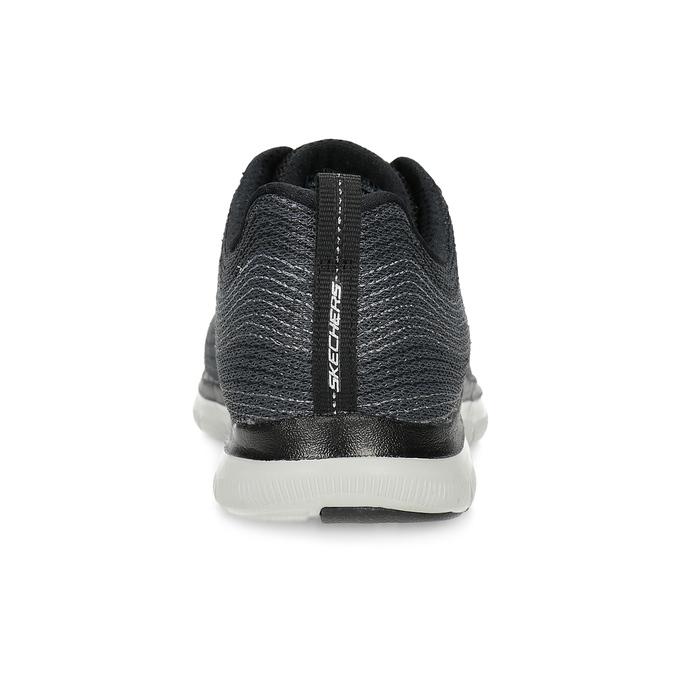 Dámské tenisky s výrazným prošíváním skechers, černá, 509-6115 - 15