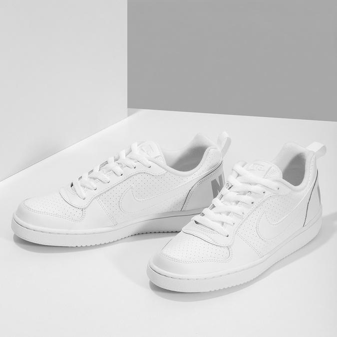 Bílé dětské tenisky nike, bílá, 401-1203 - 16