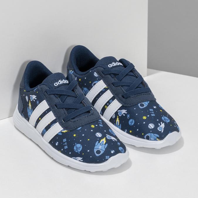 Dětské tenisky s vesmírným potiskem adidas, modrá, 109-9388 - 26