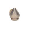 Dámské kožené baleríny do špičky zlaté hogl, zlatá, 526-8010 - 15