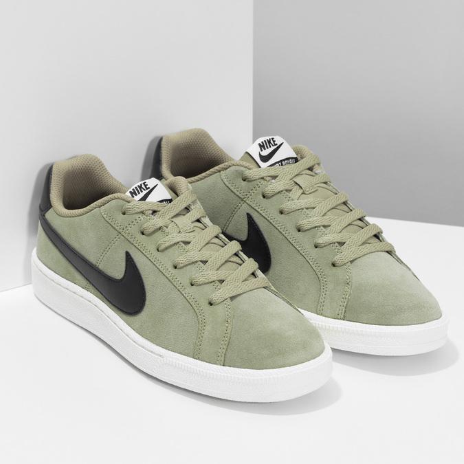 Pánské tenisky Nike z broušené kůže nike, khaki, 803-7699 - 26