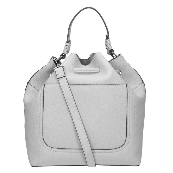 Šedá Bucket Bag kabelka bata, bílá, 961-2298 - 16