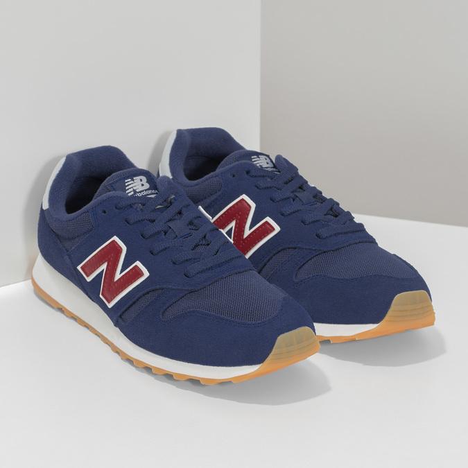 Pánské kožené tenisky New Balance modré new-balance, modrá, 803-9207 - 26