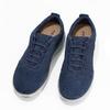 Pánské ležérní tenisky modré geox, modrá, 849-9002 - 16
