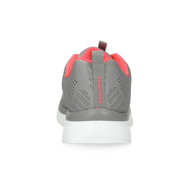 Sportovní růžovo-šedé tenisky dámské skechers, šedá, 509-2418 - 15