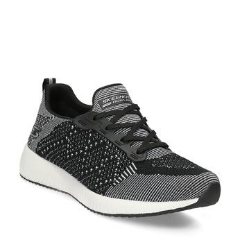 Dámské černo-bílé tenisky skechers, černá, 509-6990 - 13