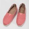Růžové dámské slip-on toms, růžová, 519-5017 - 16