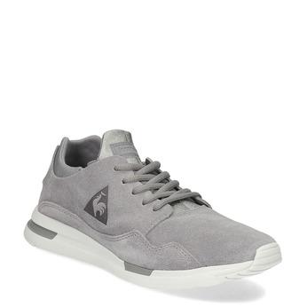 Tenisky z broušené kůže šedé le-coq-sportif, šedá, 503-2308 - 13