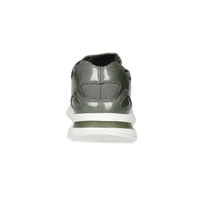 Khaki tenisky sportovního střihu le-coq-sportif, zelená, 501-7306 - 15