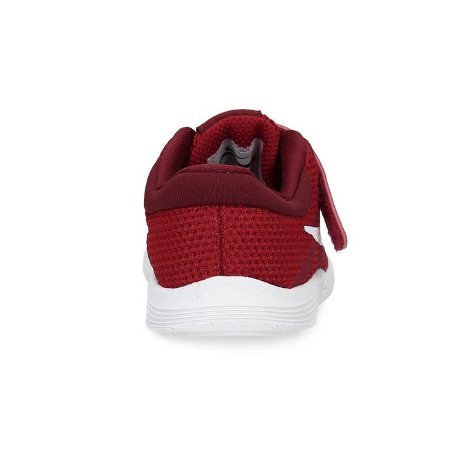 Červené dětské tenisky na suchý zip nike, červená, 109-5179 - 15