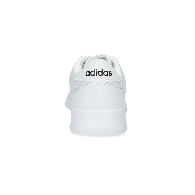 Bílé dámské tenisky s krajkou adidas, bílá, 509-1112 - 15