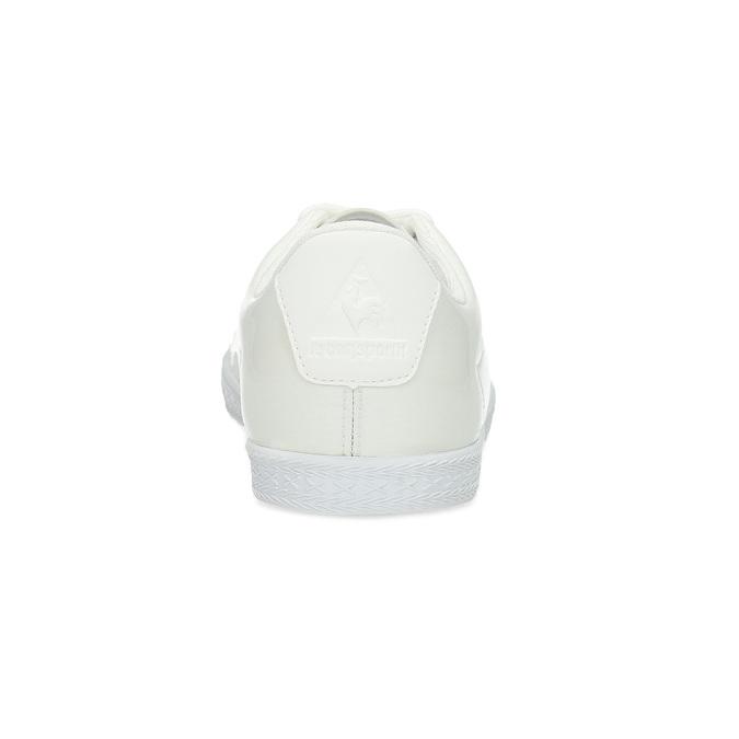 Bílé dámské tenisky lesklé le-coq-sportif, bílá, 501-1305 - 15