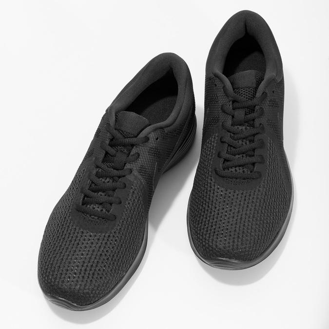 Pánské tenisky černé nike, černá, 809-6651 - 16