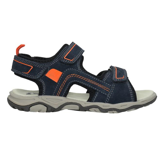 Chlapecké kožené sandály mini-b, 463-9608 - 16