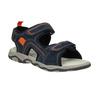 Chlapecké kožené sandály mini-b, 463-9608 - 13