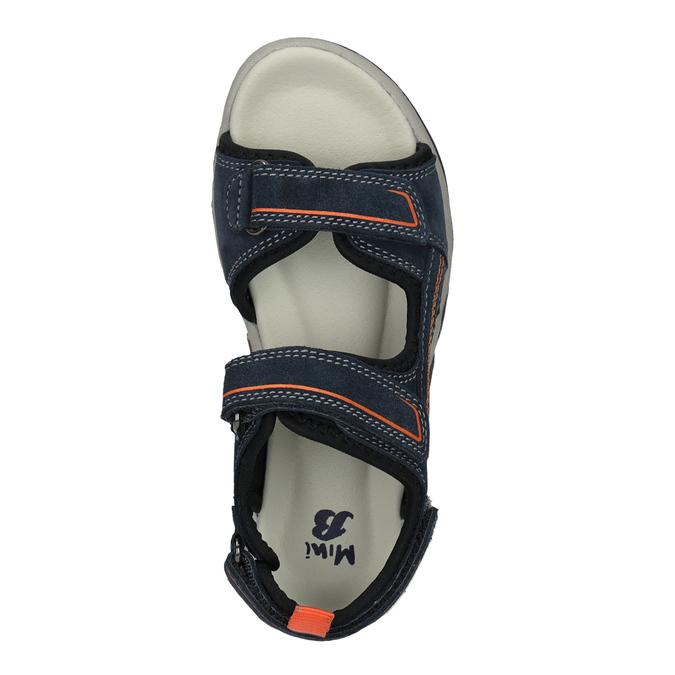 Chlapecké kožené sandály mini-b, 463-9608 - 17