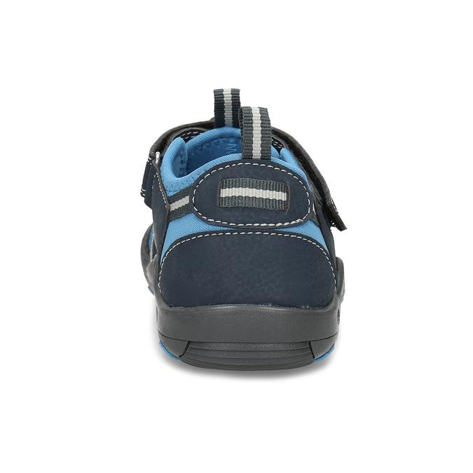 Dětské modré sandály mini-b, modrá, 461-9606 - 15