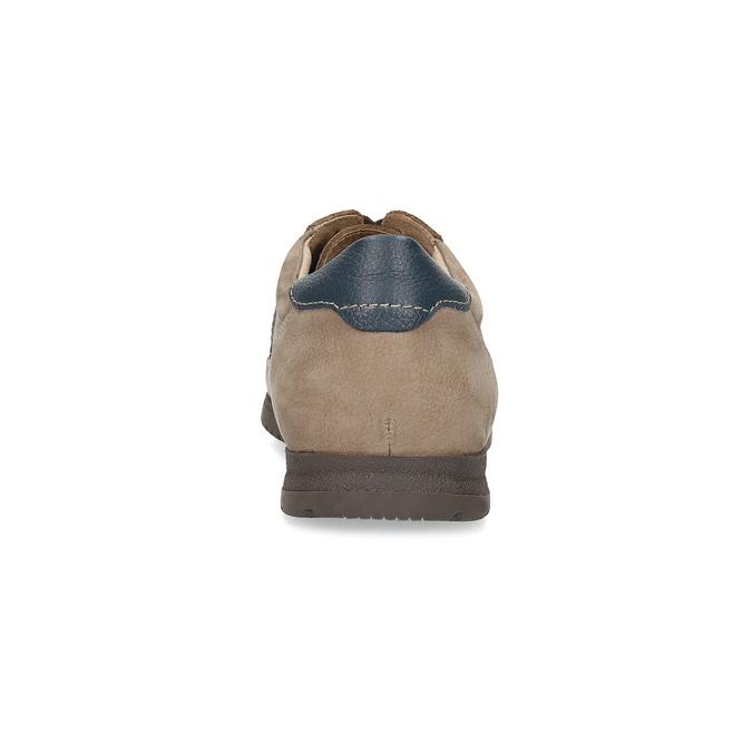 Béžové pánské polobotky s pohodlnou podešví comfit, béžová, 826-8996 - 15
