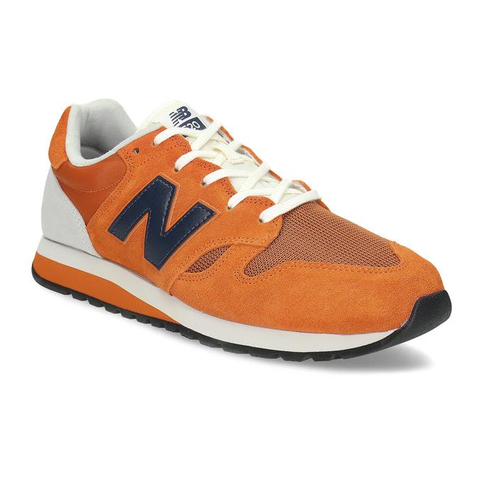 Oranžové pánské tenisky new-balance, oranžová, 803-0278 - 13