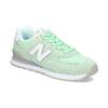 Zelené dámské tenisky new-balance, zelená, 503-7281 - 13