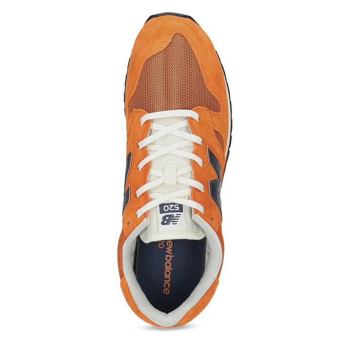 Oranžové pánské tenisky new-balance, oranžová, 803-0278 - 17