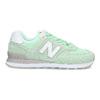 Zelené dámské tenisky new-balance, zelená, 503-7281 - 19