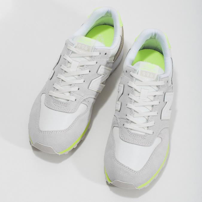 Dámské šedé tenisky new-balance, šedá, 503-2280 - 16