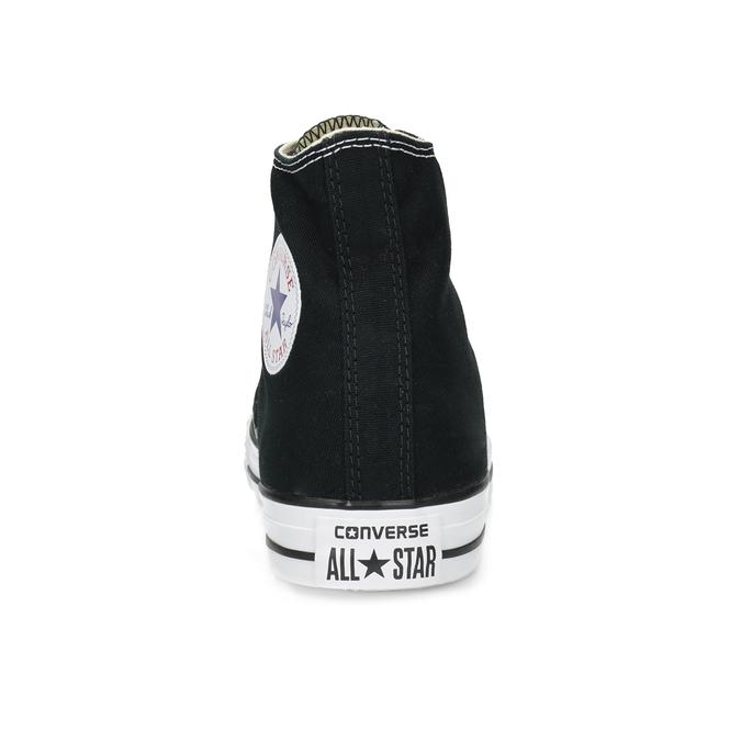 Dámské kotníčkové tenisky s gumovou špicí converse, černá, 589-6278 - 15