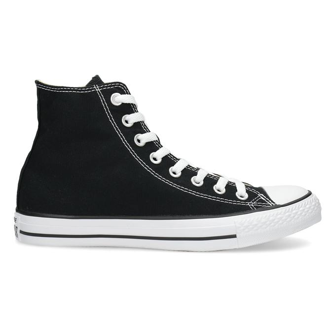 Pánské černo-bílé tenisky s gumovou špicí converse, černá, 889-6278 - 19